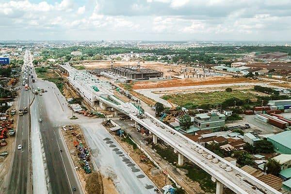 Hệ thống hạ tầng được đầu tư mạnh mẽ đang tạo đà cho bất động sản khu Đông cất cánh