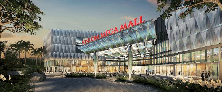 Trung tâm thương mại Vincom Mega Mall lớn nhất Tp. Hồ Chí Minh