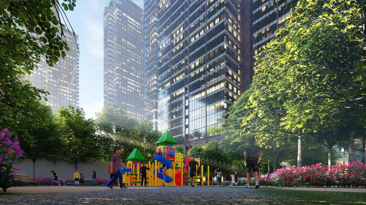 Sentosa Corp Không gian sống xanh tại Sunshine City Sài Gòn