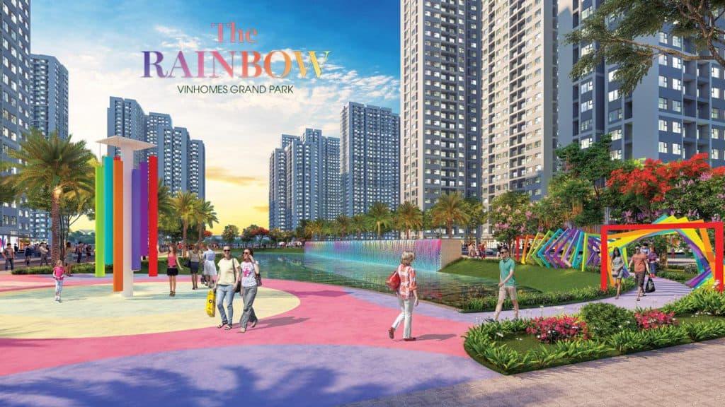 Phân khu The Rainbow Vinhomes Grand Park Quận 9