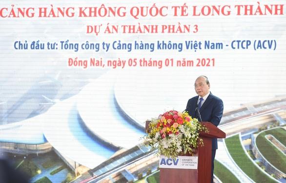 thủ tướng Nguyễn Xuân Phúc phát biểu